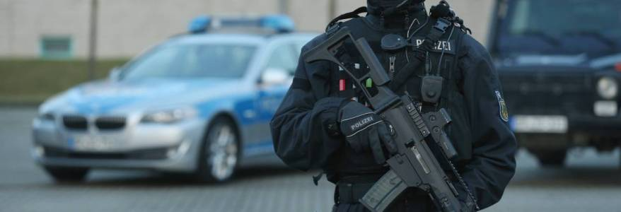 Germany under terrorist threat : Police launched 20 raids over suspected terrorism offenses