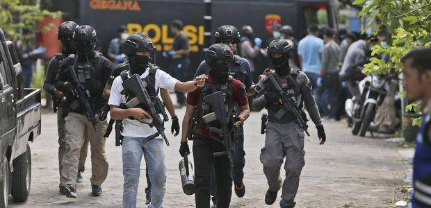 Indonesian police forces shoot terrorist suspect in Central Java