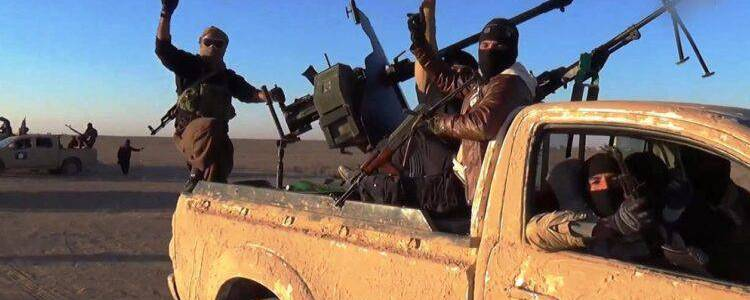 Islamic State improvised explosive device explodes killing high-ranking regime officer in southern Al-Raqqa province
