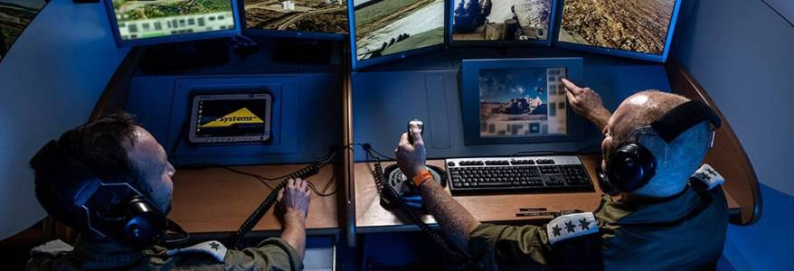 Israeli forces increase their training via virtual battlefield center amid the Hezbollah tensions