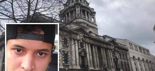 Khairi Saadallah at the Old Bailey over Reading stabbing terrorist attack