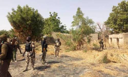 Nigerian army killed 17 Boko Haram terrorists and loses two soldiers during clash in Borno town