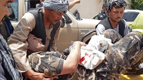 Ten people killed in Taliban car-bomb and gun attack in Afghanistan's Samangan
