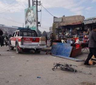GFATF - LLL - Two people killed and eight other injured in Mazar i Sharif twin blasts