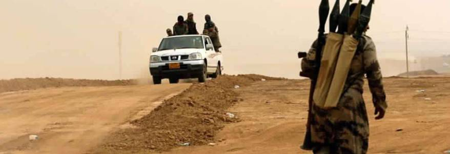 Clashes erupt between Islamic State terrorists and the National Defence Forces in the wake of kidnapping four persons