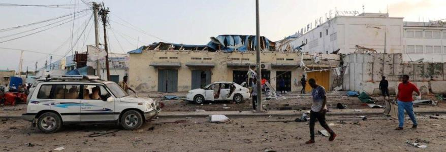 Suicide bomber killed six police officers in the Somali capital Mogadishu