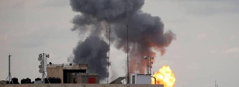 Israeli forces striked Hamas sites after Gaza rocket intercepted
