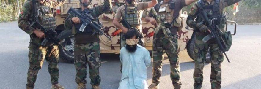 Recruitment in-charge of Islamic State terrorist group detained in eastern Afghanistan