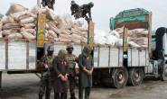 Afghan police forces seize four tons of bomb-making chemical sodium nitrate used in the making of car bombs