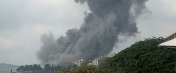Arms depot operated by Hezbollah terrorist group explodes in southern Lebanon