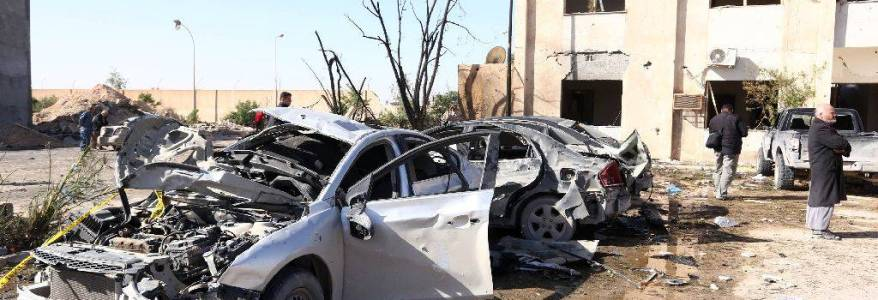 Explosion in western Tripoli believed to be terrorist suicide attack