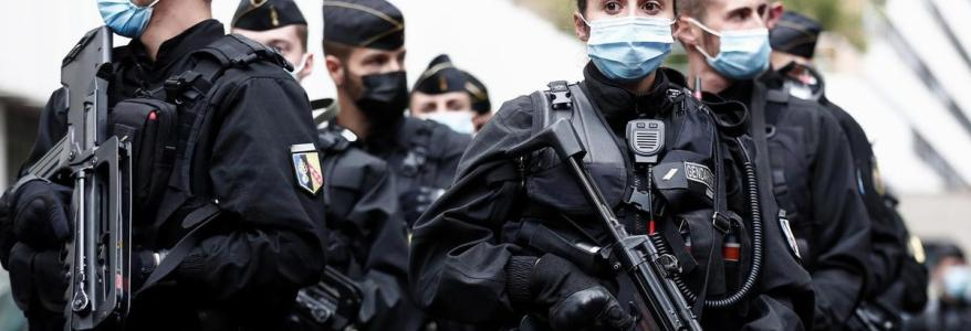 French police arrested seven people for suspected terrorist links in two regions of the country