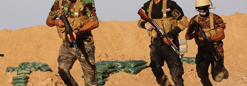 Iraqi operations against Islamic State terrorists in the Diyala and Kirkuk governorates