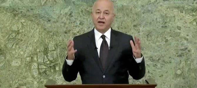 Iraqi president Barham Salih warns fight against terrorism far from over
