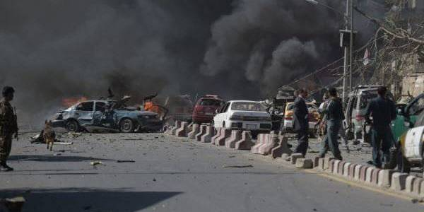 One security officer killed as bomb blasts in east Afghanistan