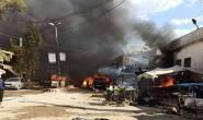 Terrorist attack killed nine people in Afrin