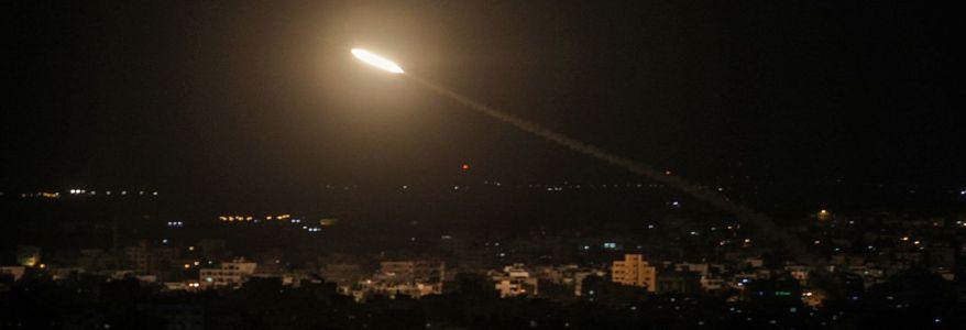 Terrorist groups from Gaza mar peace signing by firing thirteen rockets at Israel