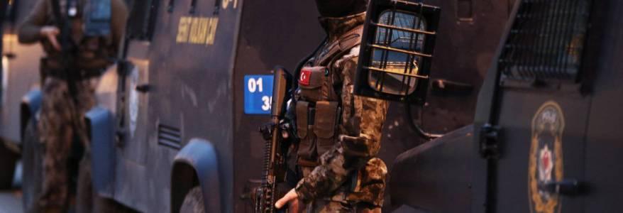 Turkish police detained sixteen foreign Islamic State terrorists in Turkey's capital Ankara