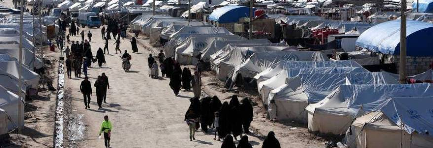 US-backed Syrian forces raid camp and arrested nine people from Islamic State families