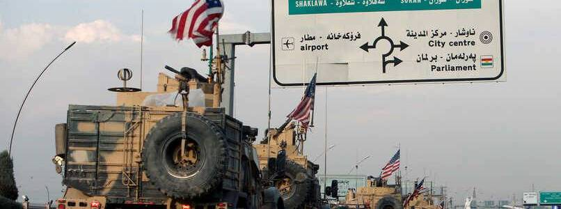 Explosive device targeted the US-led coalition in Iraq