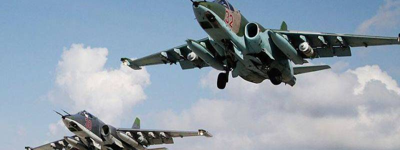 Russian warplanes attacked Islamic State positions in eastern Syria