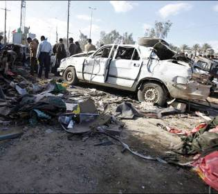 GFATF - LLL - Two bomb blasts killed at least ten people in Islamic States former capital Raqqa