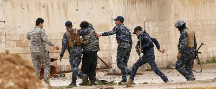 Islamic State terrorists attacked Iraqi security forces in Baghdad