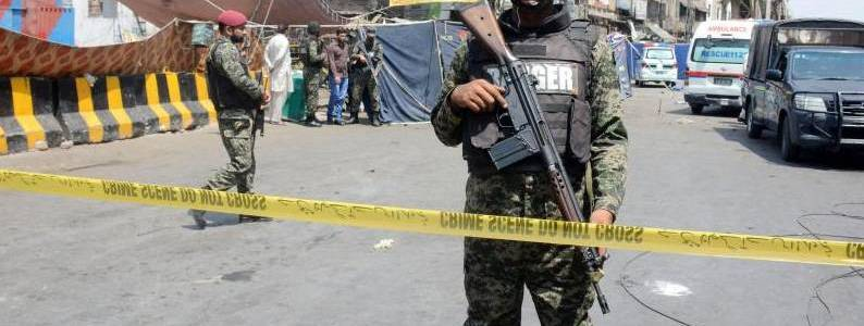 Five people arrested after Pakistani forces thwarted terrorist attack