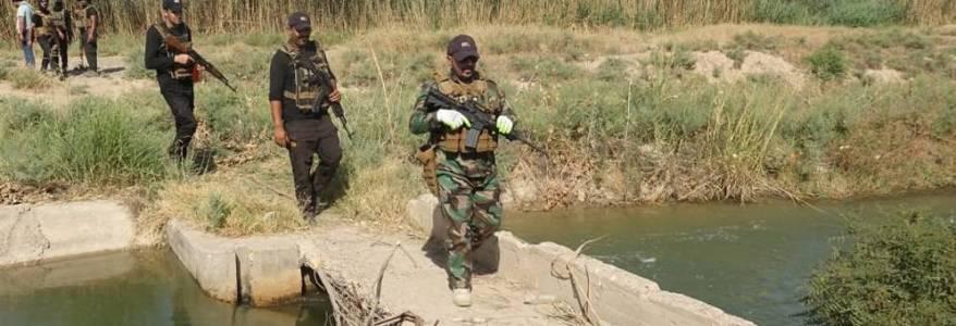 Iraqi security operations against Islamic State terrorists in Kirkuk