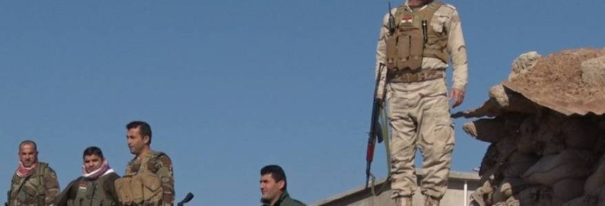 Islamic State terrorist arrested by the Iraqi forces in Kirkuk