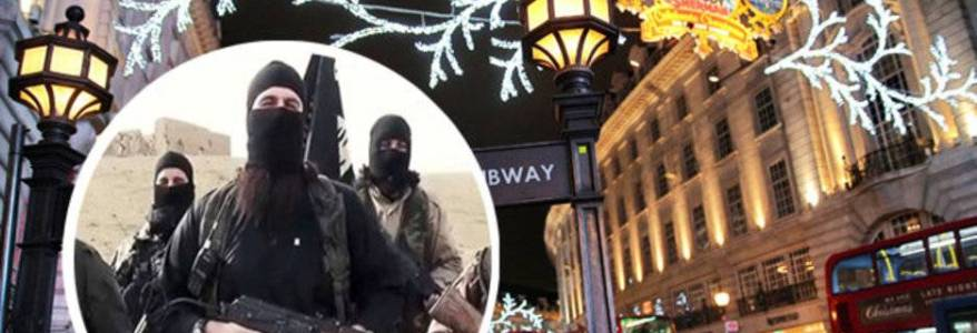 Islamic State terrorist group is plotting Christmas terror attacks in the UK and Europe