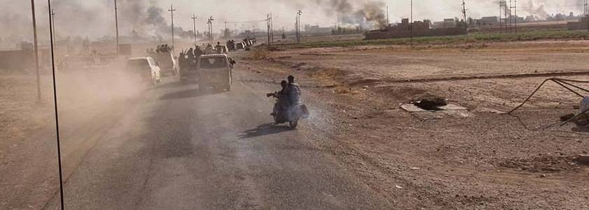 Islamic State terrorists attacked Iraqi army forces in Nineveh