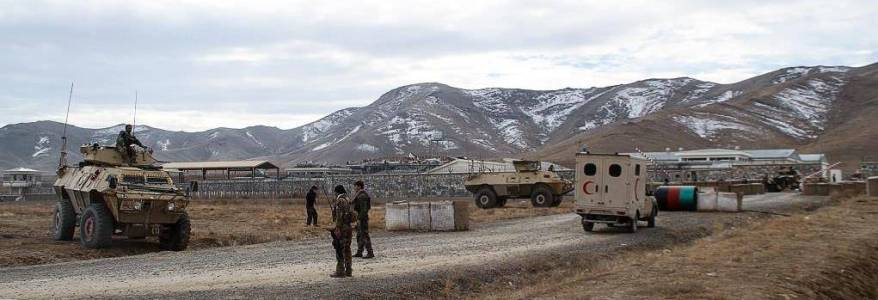 Two Afghan security personnel killed in Taliban terror attack on military base
