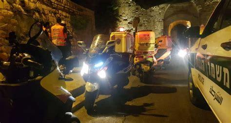 Terrorist attack in Jerusalem's Old City, perpetrator shot