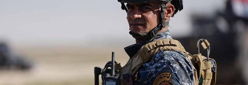 Islamic State terrorists attacked the federal police in Kirkuk