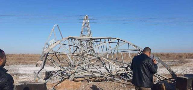 Islamic State terrorists bomb high-voltage power lines in militia stronghold near Baghdad