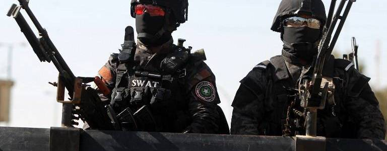 Two terrorists arrested by the Iraqi authorities in al-Anbar