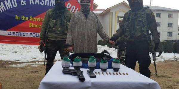 Newly recruited Jaish-e-Mohammed terrorist apprehended in Jammu and Kashmir's Bandipora