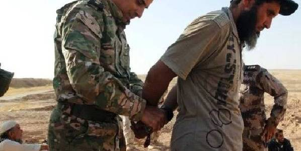 Syrian Democratic Forces arrested Islamic State terrorists in Syria
