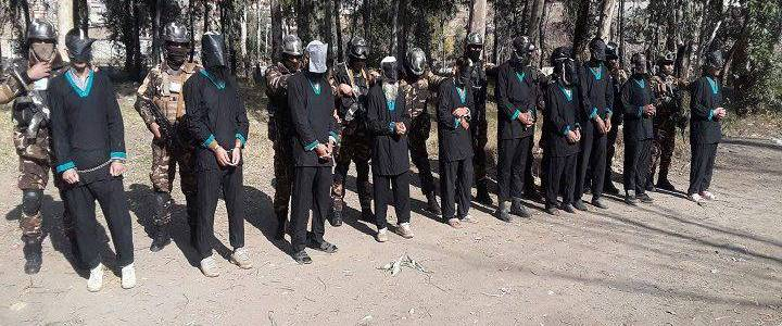 Ten members of Islamic State and Taliban terrorist groups detained in Kunar
