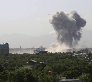 GFATF - LLL - Two policemen dead and several injured in four separate blasts in Kabul