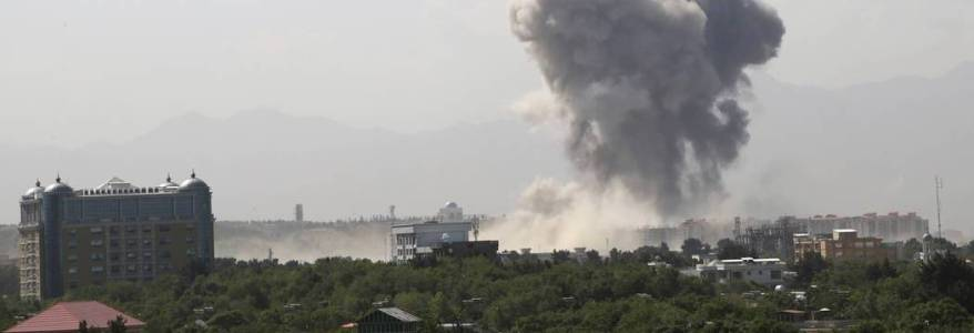 Suicide bombing in the Afghan capital as peace meeting delayed