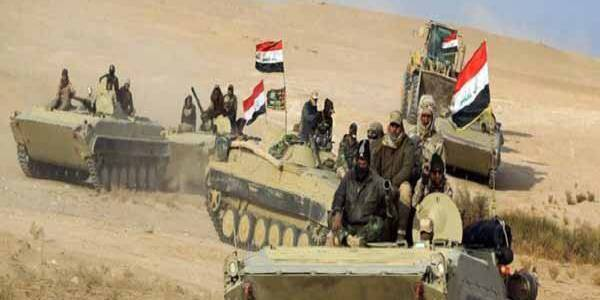 Iraqi forces identify and seize Islamic State ammunition and explosives