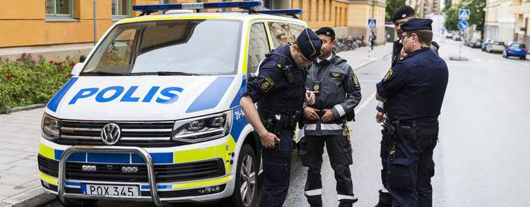 At least eight people injured in suspected terrorist attack stabbing in Sweden