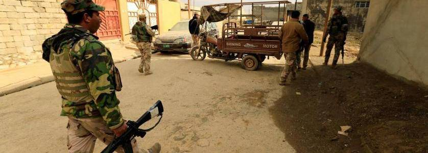 Iraqi authorities secure border with Syria to prevent infiltration of Islamic State terrorists