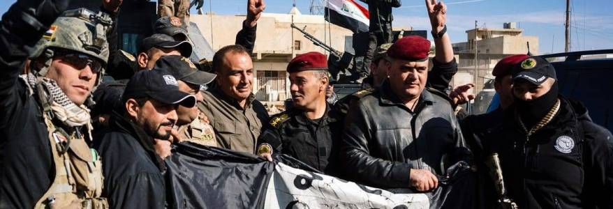 Iraqi forces thwarted Islamic State attack and arrested nine terrorists