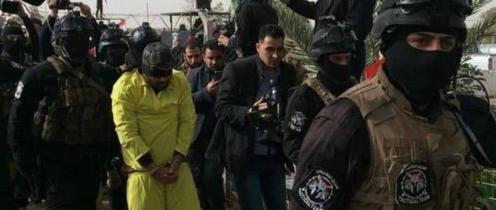 Islamic State execution official arrested by the Iraqi intelligence forces