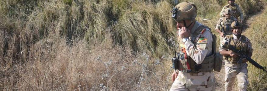 Islamic State sniper killed a policeman northeast of Baqubah