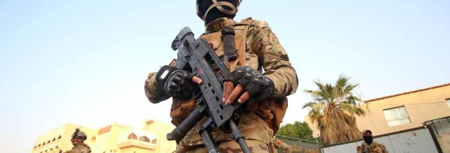 Islamic State sniper injured Iraqi soldier in Baghdad