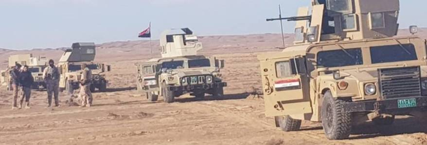 Clashes between Iraqi Army and Islamic State terrorists killed a soldier